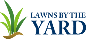 Lawns by the Yard | New Braunfels Lawn Care and Landscaping Logo